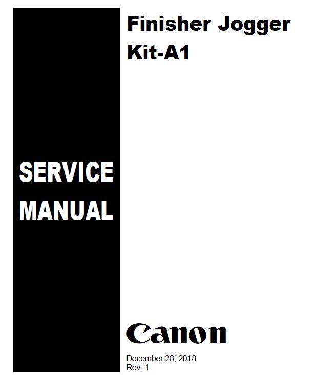 Canon Finisher_Jogger_Kit-A1 Service Manual