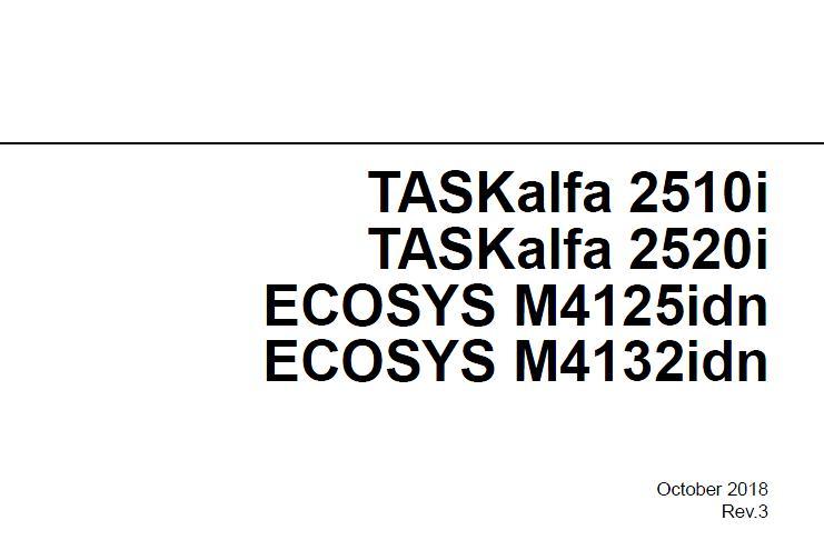 Kyocera ECOSYS M4125idn/M4132idn/TASKalfa 2510i/TASKalfa 2520i Service Manual