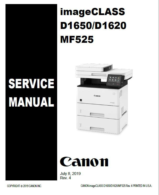 Canon imageCLASS D1620/D1650 Service Manual
