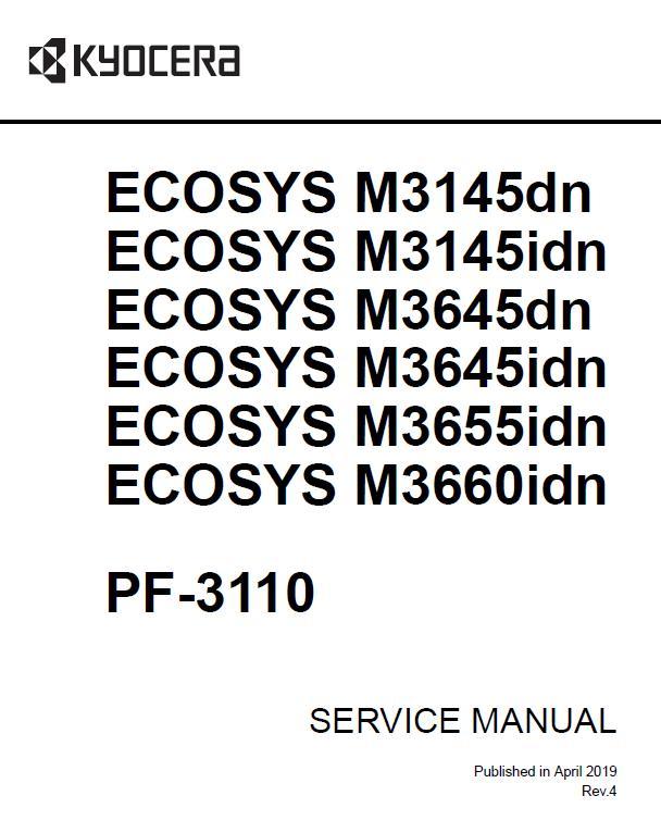 Kyocera ECOSYS M3145dn/M3145idn/M3645dn/M3645idn/M3655idn/M3660idn Service Manual