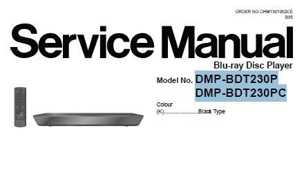 Panasonic DMP-BDT230P/DMP-BDT230PC Service Manual
