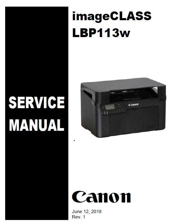 Canon imageCLASS LBP113w Service Manual