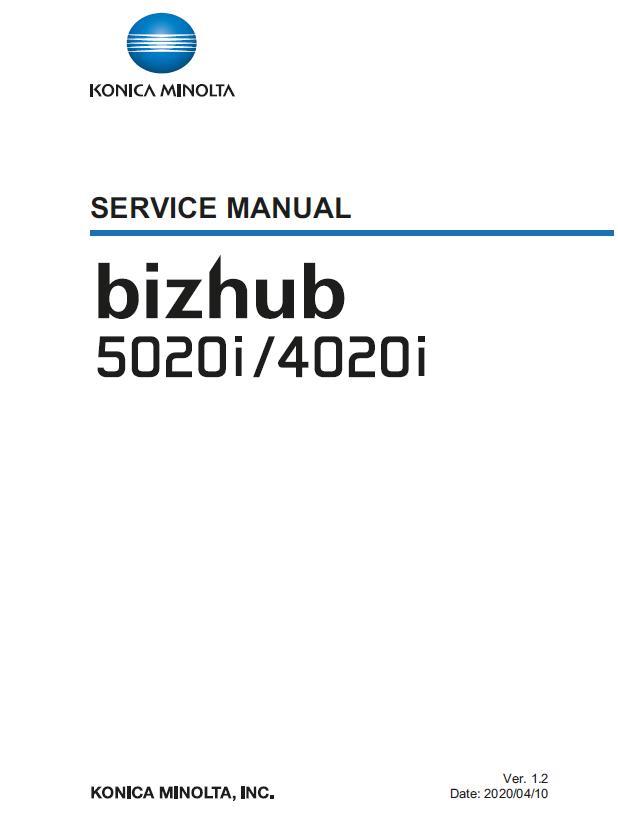 Konica Minolta BIZHUB 4020i/BIZHUB 5020i Service Manual
