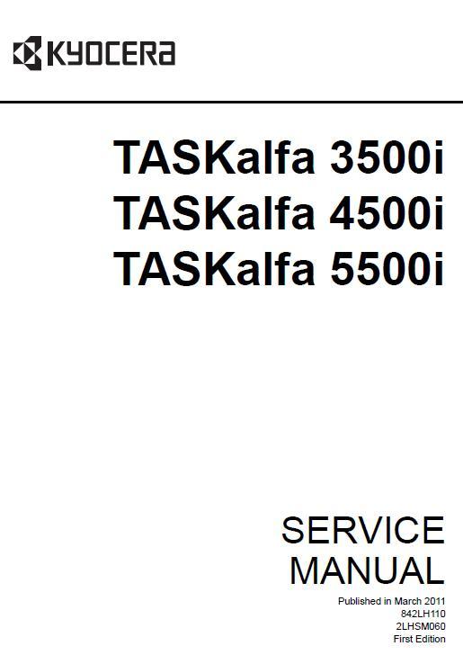 Kyocera TASKalfa 3500i/TASKalfa 4500i/TASKalfa 5500i Service Manual