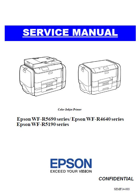 Epson WF-R4640/5190/5690 Service Manual