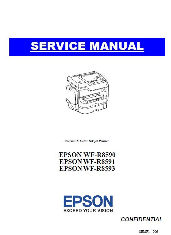 Epson WF-R8590/WF-R8591/WF-R8593 Service Manual