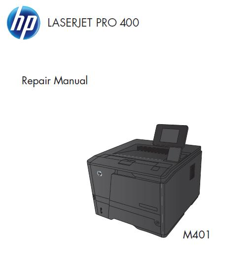 HP LaserJet Pro 400 M401 Service Manual