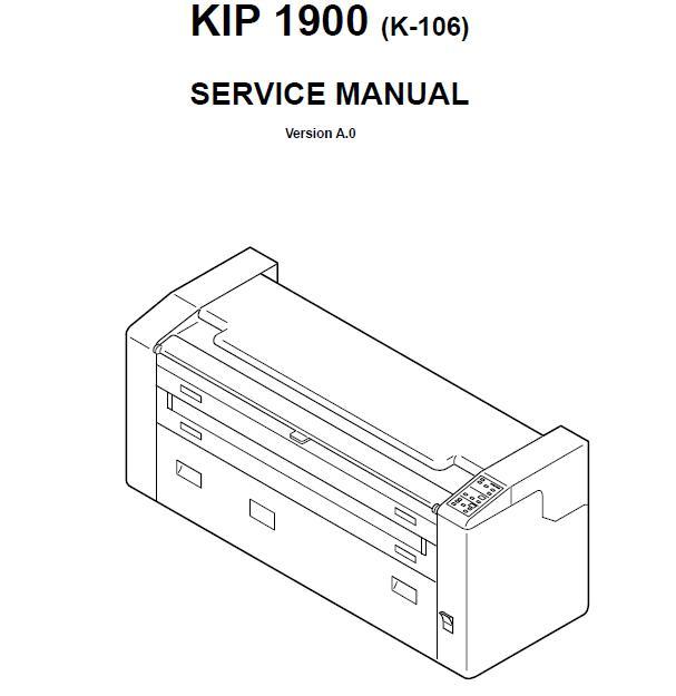 KIP 1900 Service Manual