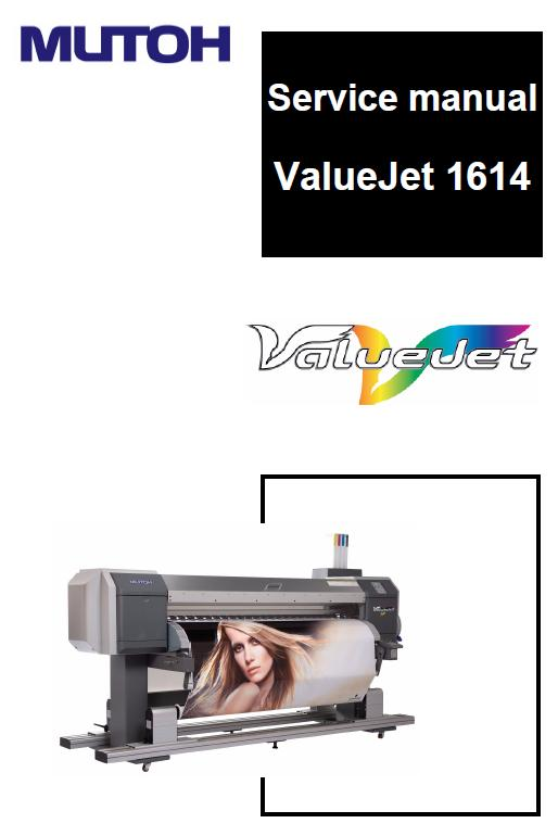 Mutoh VJ-1614 Service Manual